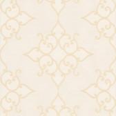 DL30605 Sebastian Cream Crepe Moroccan Medallion Wallpaper