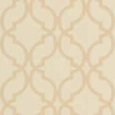 DL30616 Harira Beige Moroccan Trellis Wallpaper