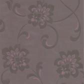DL30649 Sharon Purple Jacobean Floral Wallpaper