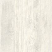 LG1320 Rough Cut Lumber Wallpaper - Whitewash
