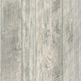 LG1321 Rough Cut Lumber Wallpaper - Light Grey