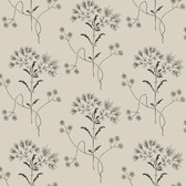 ME1519 Magnolia Home Vol. II Wildflower  White/Gatherings (Taupe)