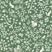 ME1573 Magnolia Home Vol. II Fox & Hare  Forest Green
