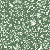 ME1573 Magnolia Home Vol. II Fox & Hare  Forest Green