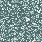 ME1574 Magnolia Home Vol. II Fox & Hare  Weekends (Teal)
