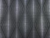 DL2934 Candice Olson Splendor Radiant Wallpaper  Silver/Black