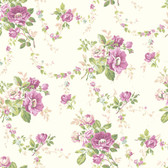 Botanical Fantasy AK7403Victorian Garden Wallpaper