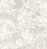 2793-24707 Allure Blush Floral Wallpaper