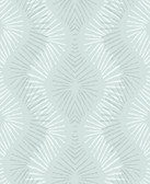 2793-87324 Feliz Seafoam Beaded Ogee Wallpaper