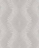 2793-87325 Feliz Champagne Beaded Ogee Wallpaper