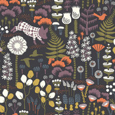2782-1452 Visby Black Scandinavian Wallpaper