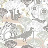 2782-1471 Helsing Multicolor Woodland Wallpaper