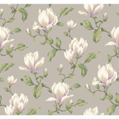 Botanical Fantasy AK7424Magnolia Branch Wallpaper