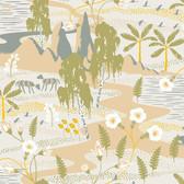 2782-1480 Kiruna Beige Oasis Wallpaper