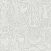 2782-1762 Lindberg Light Grey Folk Wallpaper