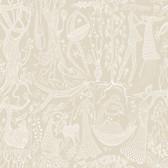 2782-1763 Lindberg Beige Folk Wallpaper