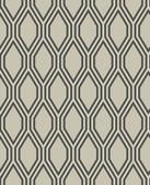 2782-24500 Honeycomb Beige Geometric Wallpaper