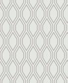 2782-24501 Honeycomb Grey Geometric Wallpaper