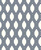 2782-24504 Honeycomb Navy Geometric Wallpaper