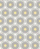 2782-24509 Buttercup Grey Flower Wallpaper