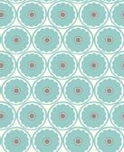 2782-24510 Buttercup Turquoise Flower Wallpaper