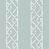 2785-24806 Aqua Latticework Wallpaper