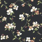 Botanical Fantasy GE9550 Dogwood Wallpaper