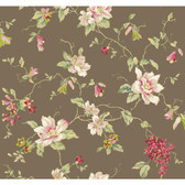 Botanical Fantasy YV9023 Magnolia Wallpaper
