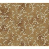 Brandywine GL4603  Textured Scroll Wallpaper