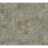 Brandywine GL4622  Damask Scroll Wallpaper