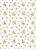 Casabella LY4314  Mini Rose Toss Wallpaper