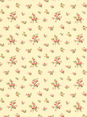 Casabella LY4320  Mini Rose Toss Wallpaper