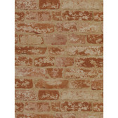 BZ9206-Welcome Home Stuccoed Brick Wallpaper