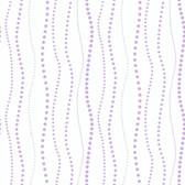 KD1848-PEEK-A-BOO DOTTY STRIPE WALLPAPER-pearled lavender-warm white