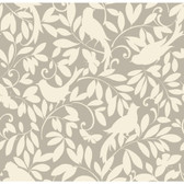 Waverly Cottage Birdsong Sand Wallpaper ER8134