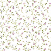 Waverly Cottage Bellisima Vine Lilac-White Wallpaper ER8187