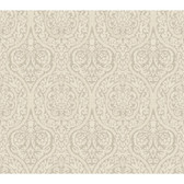 WA7728-WAVERLY CLASSICS  BRIGHT IDEA WALLPAPER-Graphite Gray-Dove Gray