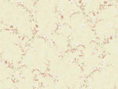Keepsake Floral Vine Eggshell Wallpaper GP7233