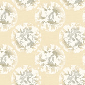 Risky Business II Earthbound Wallpaper RB4225 -Ash Gray-Khaki-Twine Brown