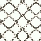 Silhouettes Fretwork Trellis Charcoal Wallpaper AP7489