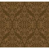 Regents Glen Damask Spot Wallpaper-PP5729-Milk Chocolate Brown-Bronze