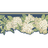 Ashford House Blooms Hydrangea Border AK7439B in Blue