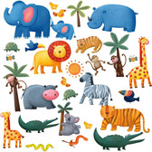 Kids Book Jungle Adventure Appliques RMK1136SCS