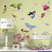 Kids Book Disney Fairies Appliques RMK1493SCS
