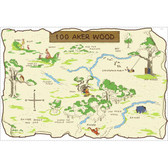 Kids Book 100 Aker Wood Map RMK1502SLM