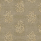 Metallics Book Biscayne Mocha Wallpaper CW9224
