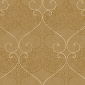 Metallics Book Marceilles Fawn Wallpaper CW9241