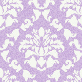 Girl Power 2 Damask With Skins Iris Wallpaper PW3933