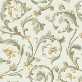 Texture Graystone Estate Grand Hunt Scroll HD6967 Cream Wallpaper