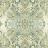 DN3720 - Candice Olson Aqua Inner Beauty Harlequin Wallpaper